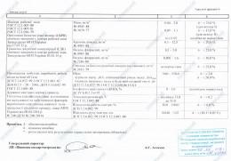 dodatok do svidotstva pro atestatsiju PU 0025.18 6