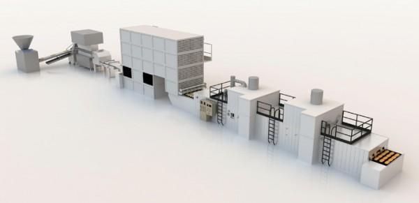Поточно-механізована лінія виробництва батонних виробів