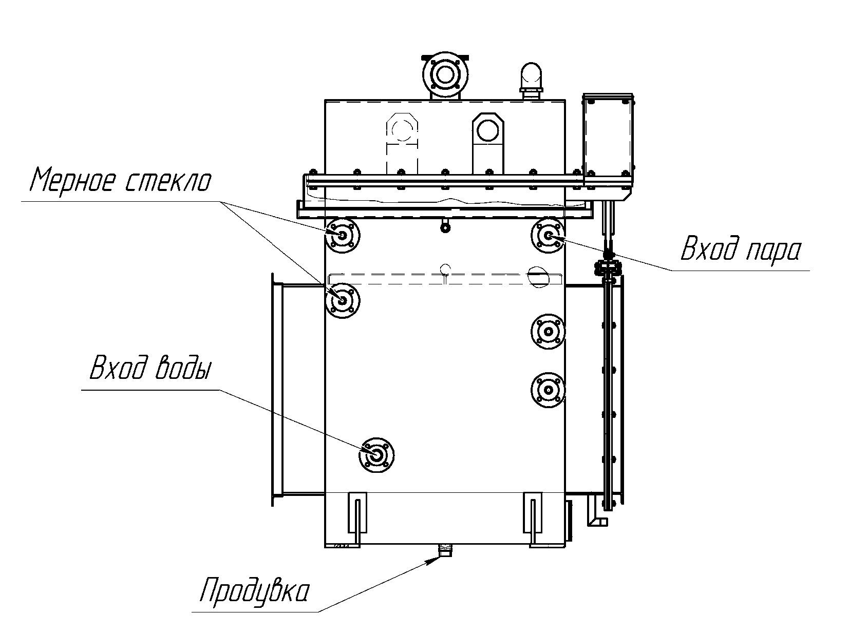 Steam generator PrJSC Kalinovskiy machine building plant
